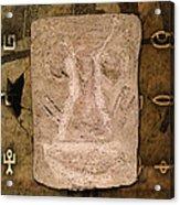 Ancient Artifact Acrylic Print
