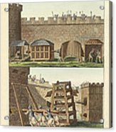 Ancient Besiegement Tools Acrylic Print