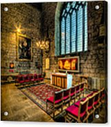 Ancient Cathedral Acrylic Print
