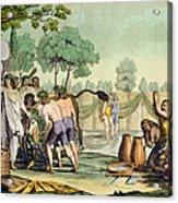 Ancient Celts Or Gauls Sacrificing Acrylic Print