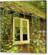 Ancient Cottage Acrylic Print