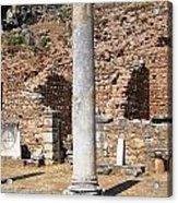 Ancient Delphi Acrylic Print