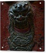 Ancient Door Knocker Acrylic Print