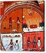 Ancient Drawings Acrylic Print