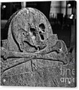 Ancient Gravestone Acrylic Print