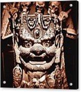 Ancient Mask Acrylic Print