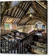 Ancient Pagan Chapel Acrylic Print