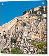 Ancient Palamidi Fortress Acrylic Print