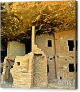 Ancient Pueblo Dwelling Ruins Acrylic Print