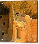 Ancient Pueblo Dwelling Ruins Two Acrylic Print
