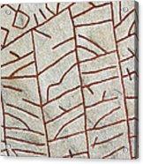 Ancient Runestone Acrylic Print
