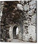 Ancient Side Byzantine Hospital Acrylic Print