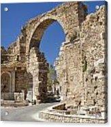 Ancient Side Entrance Gate Acrylic Print
