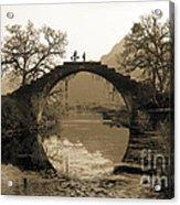 Ancient Stone Bridge Acrylic Print