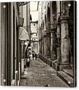 Ancient Street Acrylic Print
