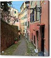 ancient street in Sori Acrylic Print