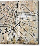 Ancient Sundial Acrylic Print