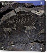Ancient Symbols Acrylic Print