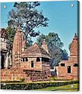 Ancient Temple Complex  - Amarkantak India Acrylic Print