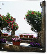 Ancient Town Of Ravello Italy Acrylic Print