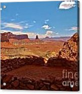Ancient Viewpoint Acrylic Print