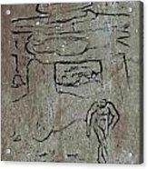 Ancient Wall Art Acrylic Print