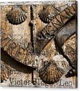 Ancient Wall With Hugo Acrylic Print