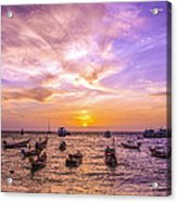 And Every Sunset Will Bring You That Much Nearer... Acrylic Print