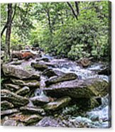 ...and The Creek Don't Rise Acrylic Print