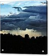 And The Rains Came A Down Acrylic Print