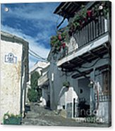 Andalusian White Village Acrylic Print