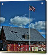 Andersons Dock Door County Wi Acrylic Print