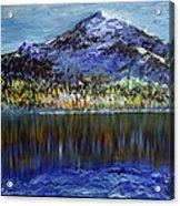 Andes Mountain Acrylic Print