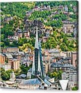 Andorra La Vella City Acrylic Print