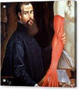 Andreas Vesalius Acrylic Print