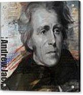 Andrew Jackson Acrylic Print