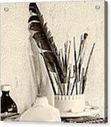 Andrew's Feather Acrylic Print