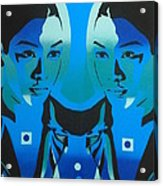 Android Twins Acrylic Print