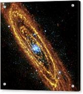 Andromeda Galaxy Acrylic Print by Adam Romanowicz