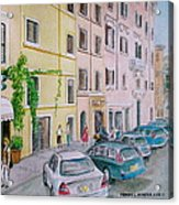 Anfiteatro Hotel Rome Italy Acrylic Print