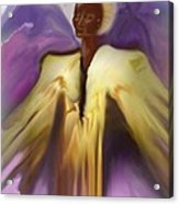 Angel And Guides Acrylic Print by Linda Marcille