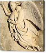 Angel And Infant Acrylic Print