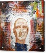 Angel And Man 2 Acrylic Print