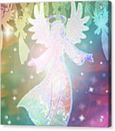 Angel Announcement 2 Acrylic Print