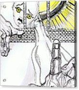 Angel Art - The Helping Hand Acrylic Print