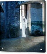 Angel At Window Acrylic Print