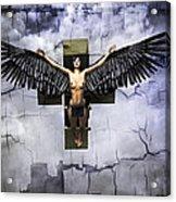 Angel Cube Acrylic Print