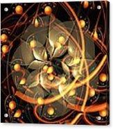 Angel Flower Acrylic Print