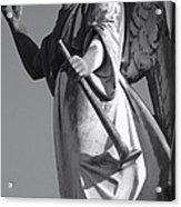Angel Gabriel With Trumpet Acrylic Print