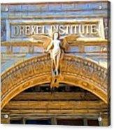 Angel In Drexel Acrylic Print